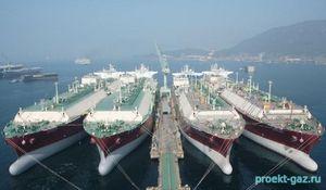 Мировому флоту газовозов грозит переизбыток емкости