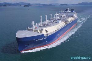Экспорт российского СПГ в страны АТР резко вырос