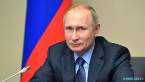 Путин дал старт запуску газопровода «Ухта–Торжок – 2»