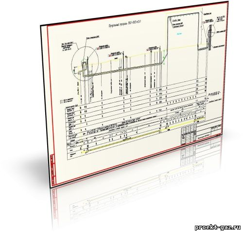 Рабочий проект газоснабжения