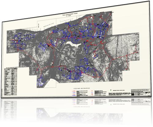 дипломный проект газоснабжения города