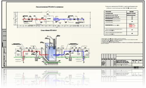 Схема обвязки ПГБ-400-01