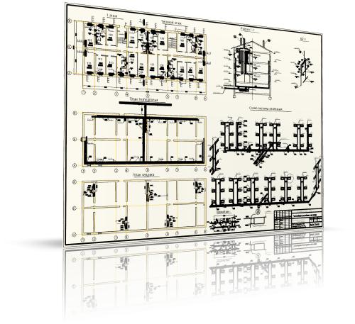 Курсовой проект по отоплению жилого трехэтажного дома в г. Санкт-Петербурге.