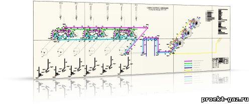 Обвязка резервуаров. Схема сварных соединений.