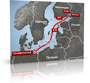 Прокачку газа по «Северному потоку» приостановят на две недели
