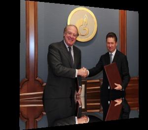 Алексей Миллер и Паоло Скарони отметили рост поставок Газпрома потребителям Италии в текущем году